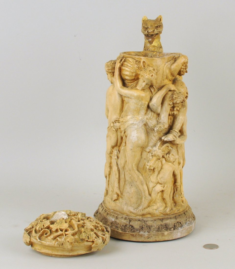 Elaborate Baroque Style Model for Carved Tankard - 4