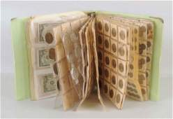 Binder U.S. & Foreign Coins & Currency