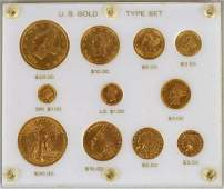 U.S. Gold Eleven Coin Type Set