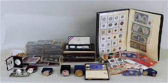 Assortment  U.S. & Foreign Coins & Currency