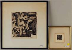 Richard Hefter, Two Etchings