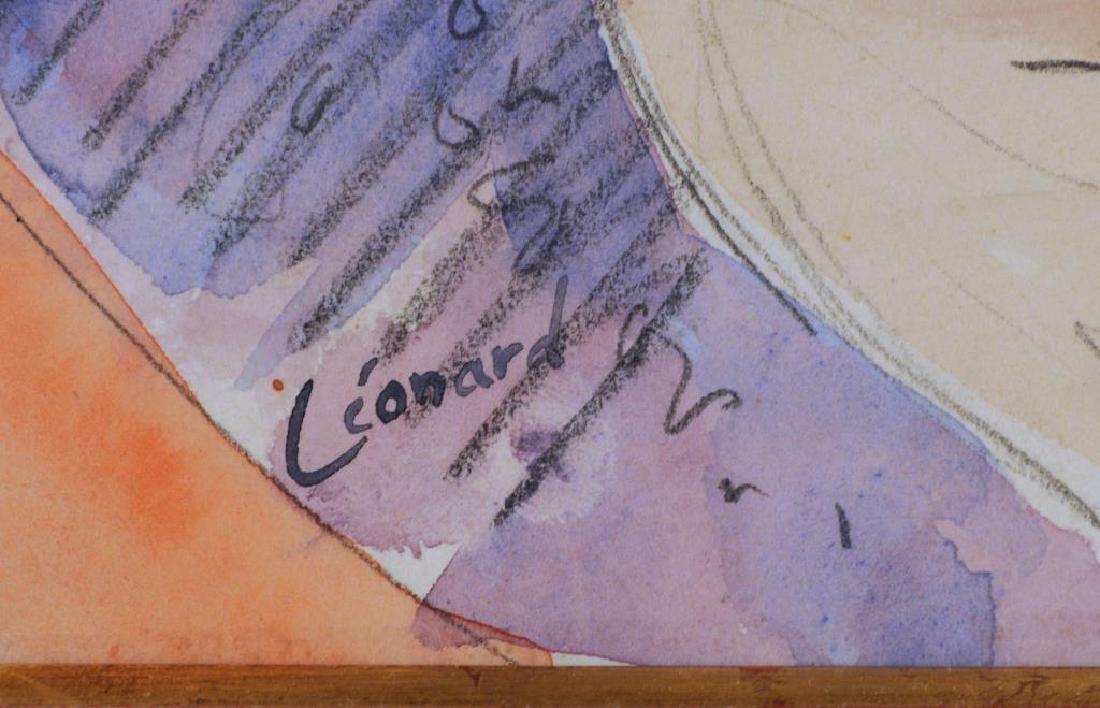 "Maurice Leonard, ""Jeune Femme Endormie"" - 4"