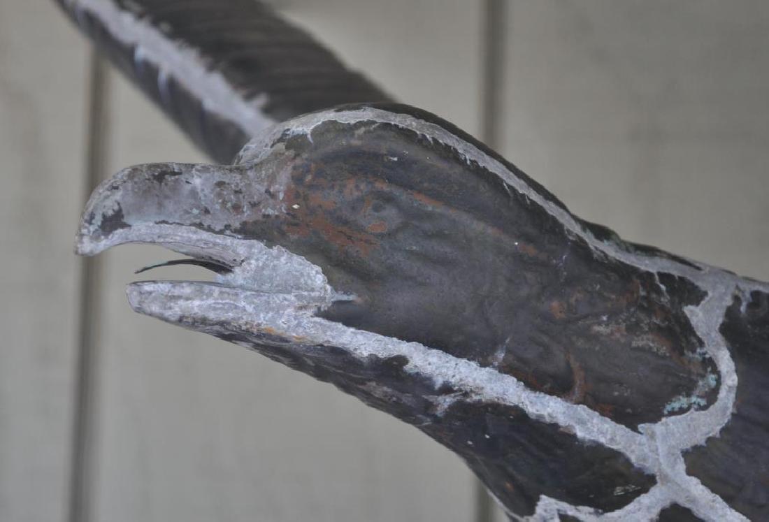 Copper Full Bodied Eagle Weathervane - 5