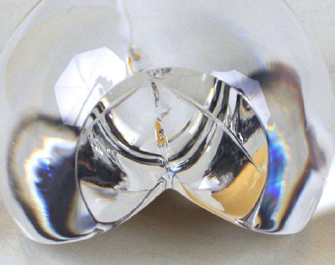 Steuben Crystal 18K Gold Vermeil Ornament - 4