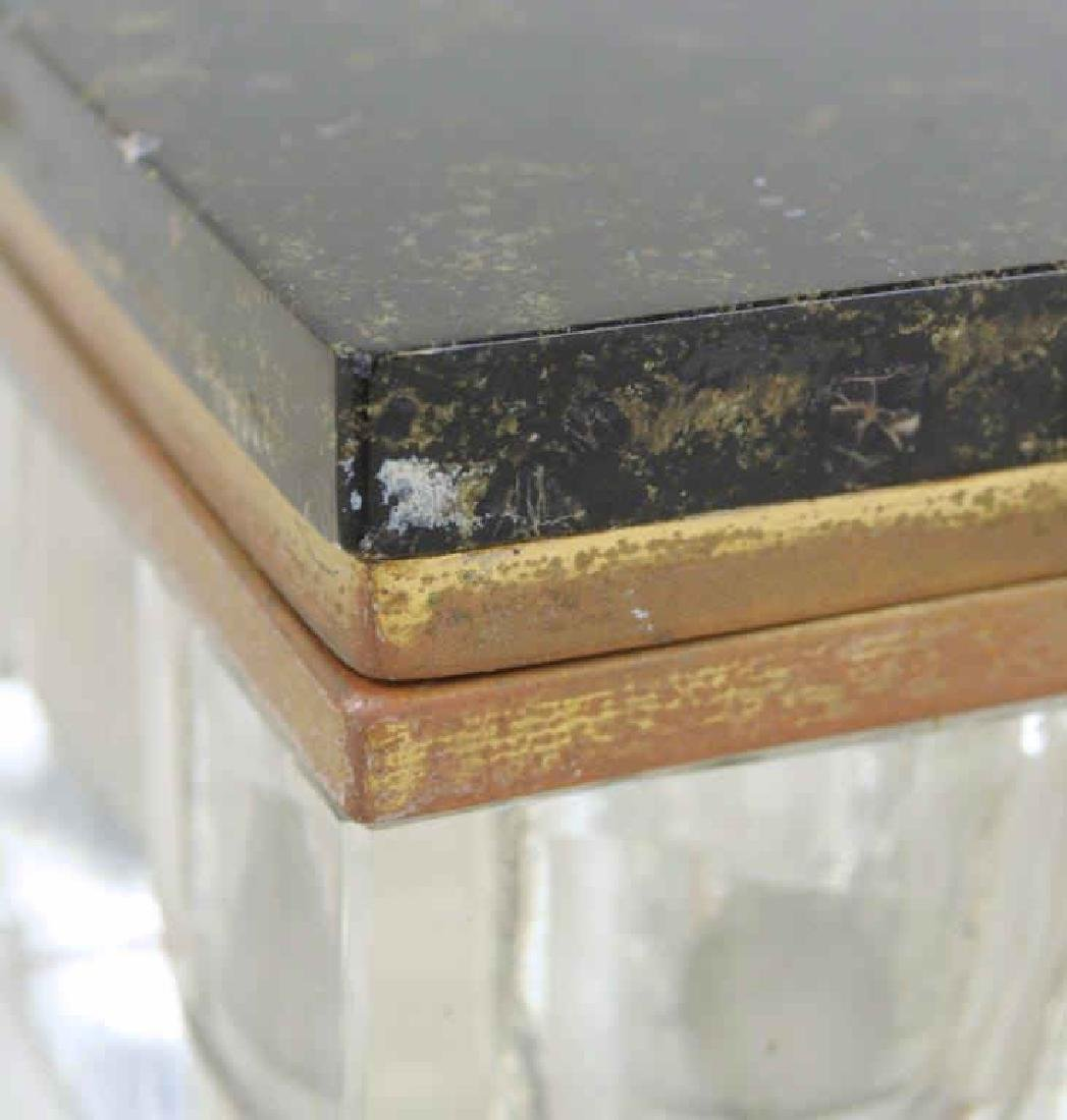 Art Deco Marble Inkwell Stand & Blotter - 9