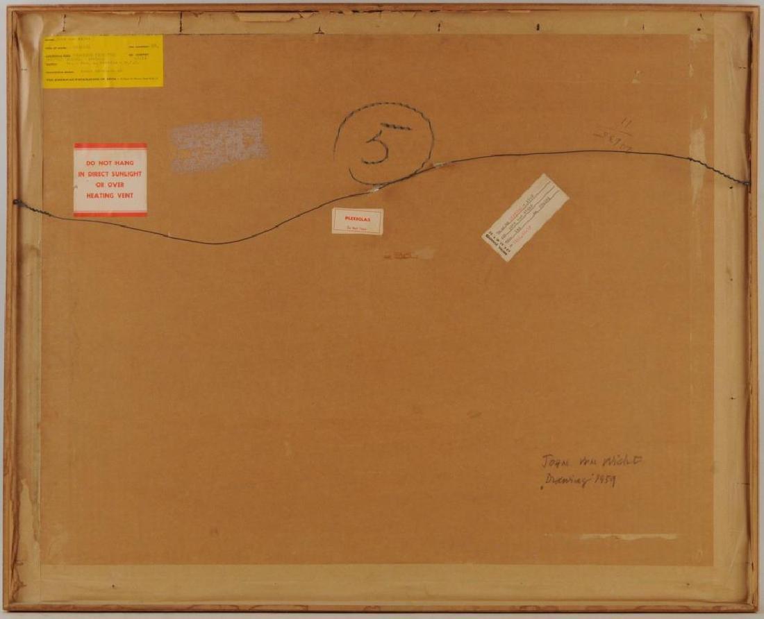 """John G.F. Von Wicht, """"Drawing"""" M/M/P - 2"""