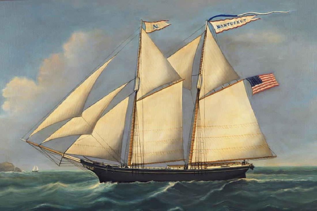 "Reginald E. Nickerson, ""Nantucket"" Nautical Scene - 5"