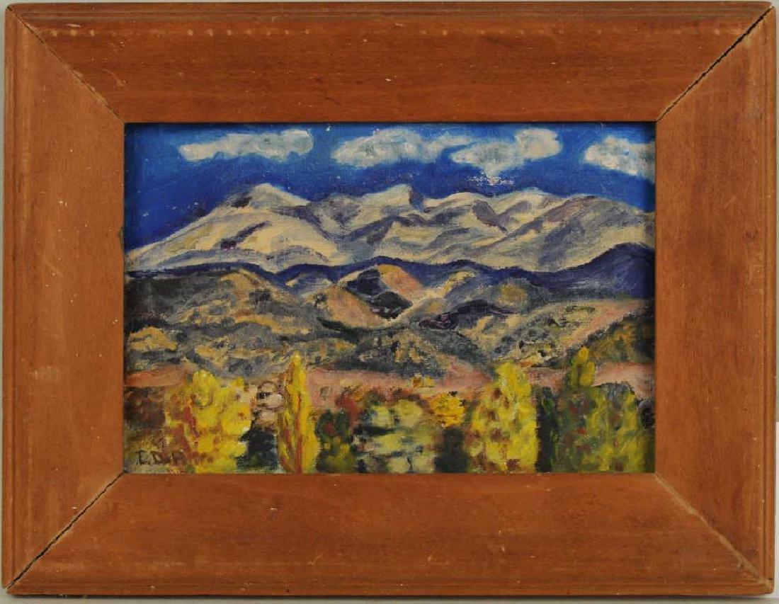 Elizabeth Willis De Huff Santa Fe Landscape