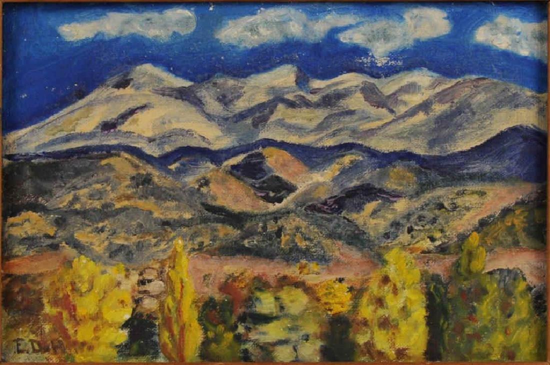 Elizabeth Willis De Huff Santa Fe Landscape - 3