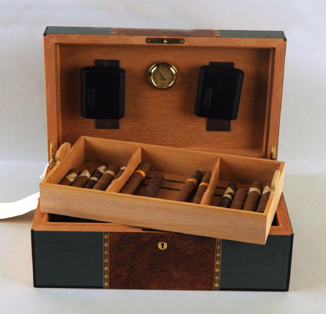 Elie Bleu, Paris Mixed Woods Humidor