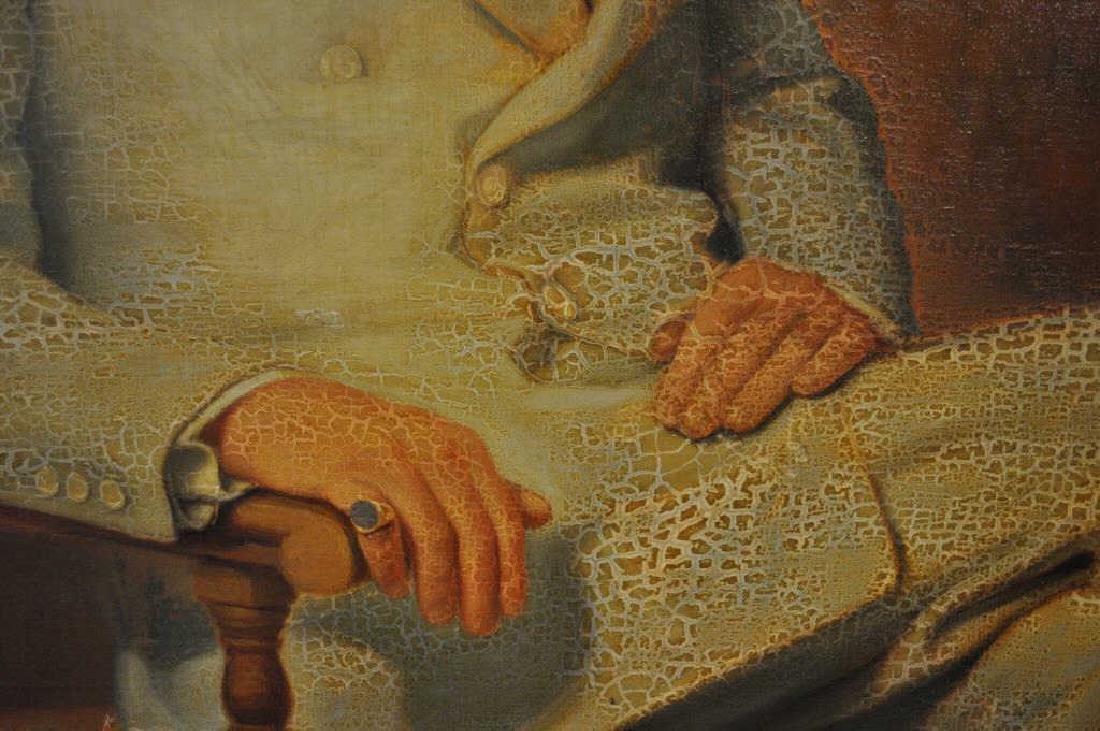 F.C. Von Hausen, Portrait Of Gentleman - 4