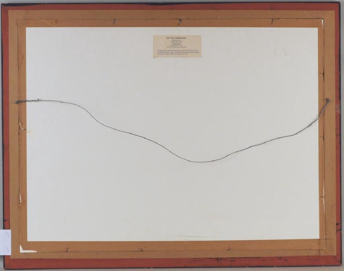 "Jan Van Chelminski ""Central Park"" Pen & Ink - 4"