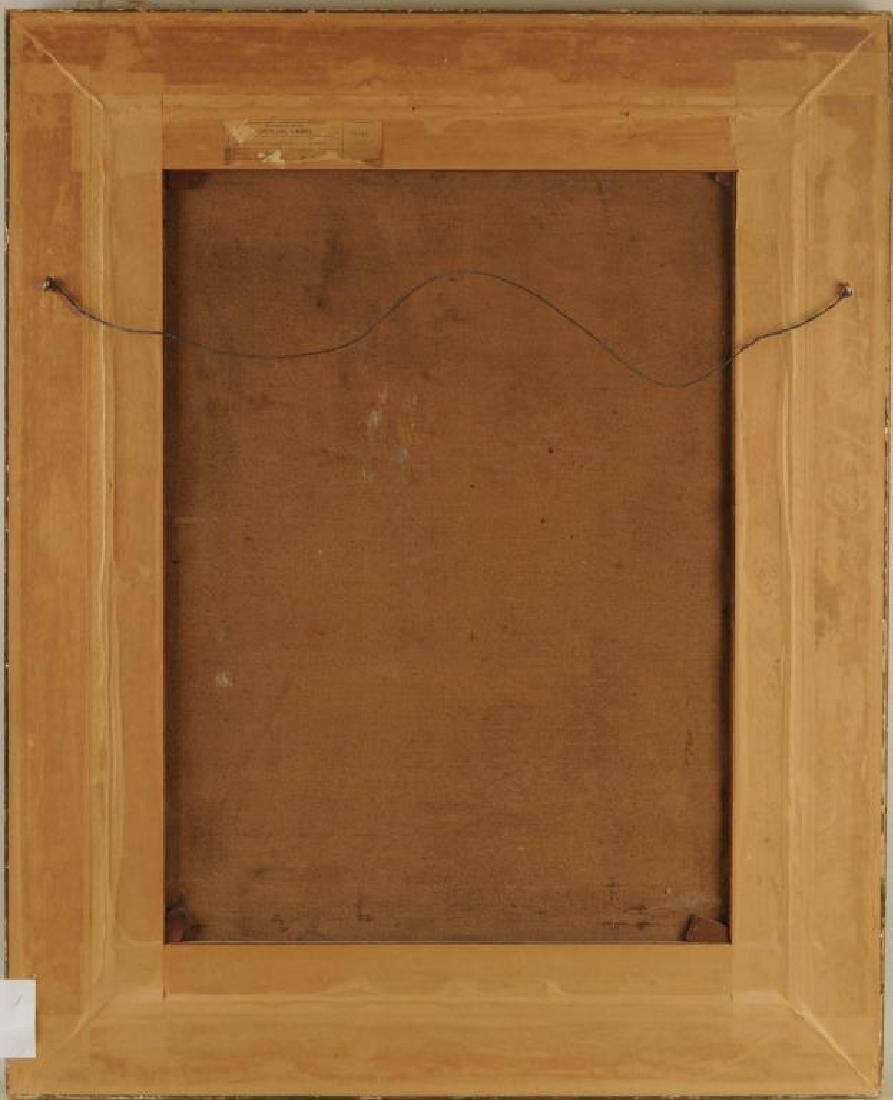 "Jose Maria Llopis de Casados, ""Interior"" O/C - 2"