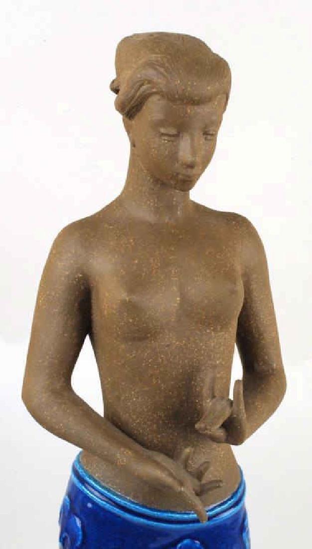 Royal Copenhagen J. Hedegaard Stoneware Figure - 4