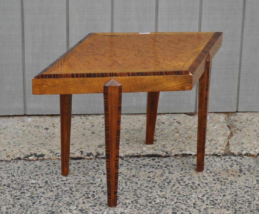 Custom Mid-Century Diamond Shaped Low Table
