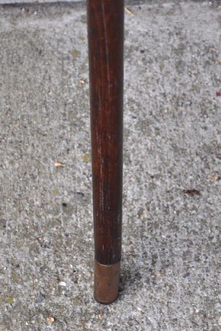 Two Folk Art Carved Wood Canes - 4