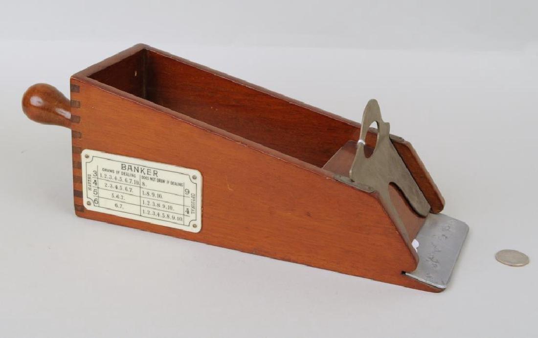 A Vintage Croupier Box