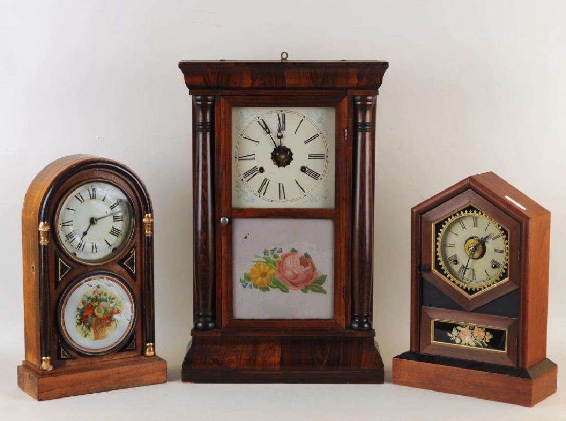 Group Three Mantle Clocks