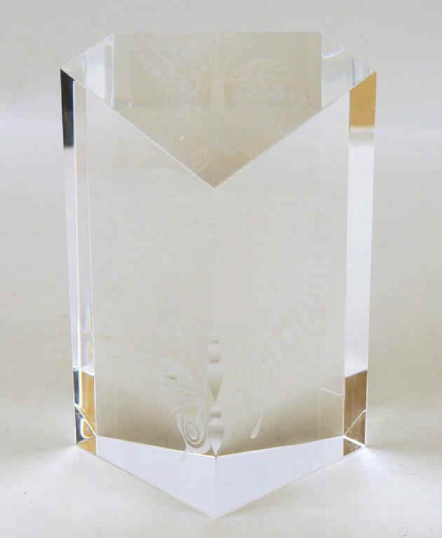 Steuben Crystal Butterfly Sculpture - 3
