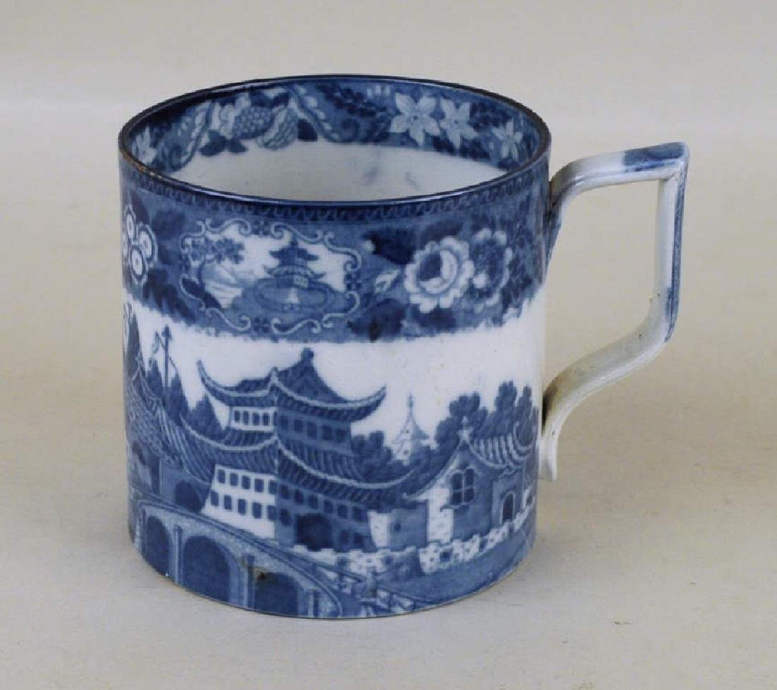 English Porcelain Transfer Decorated Mug