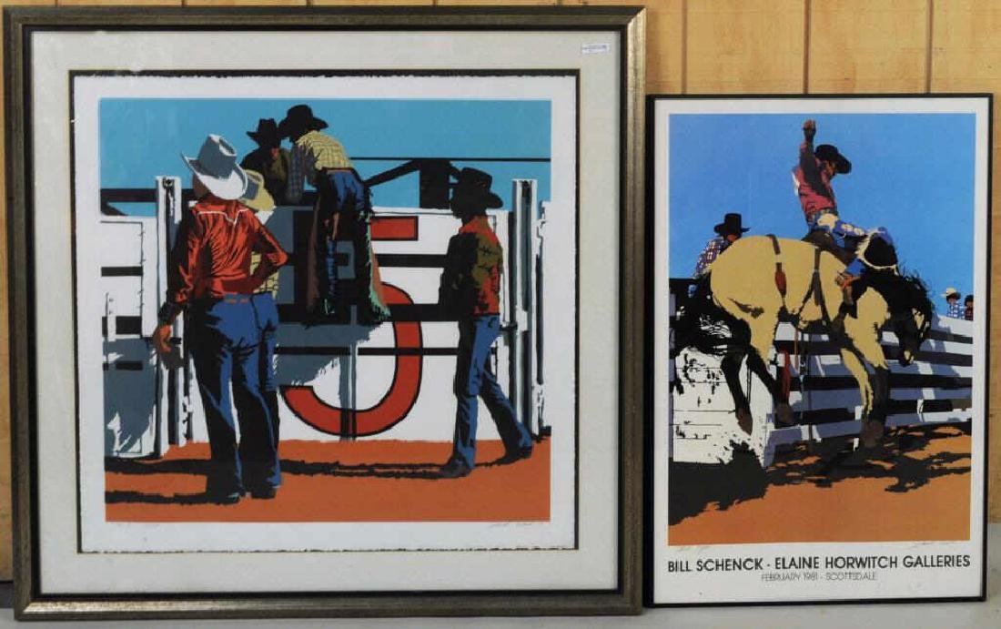 Billy Schenck Signed Lithograph & Poster