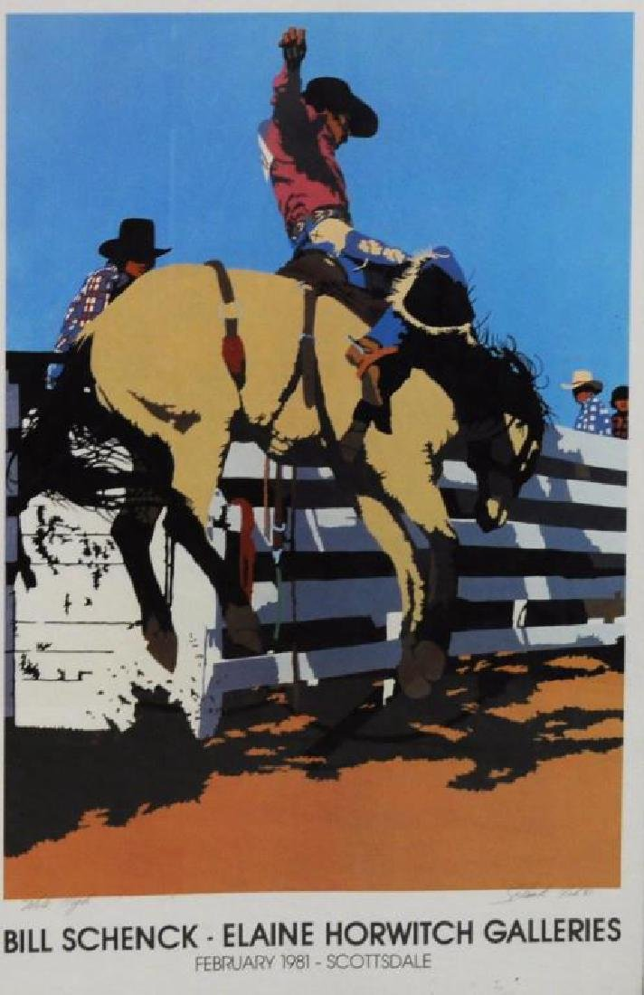 Billy Schenck Signed Lithograph & Poster - 6