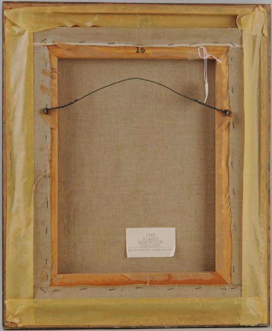 Fritz Scholder Oil/Linen Of A Native Dancer - 2