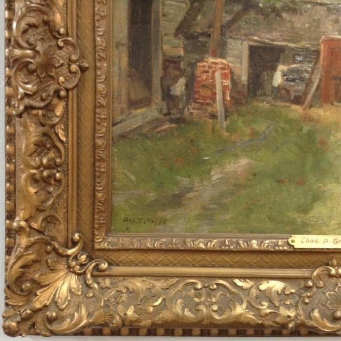 """Charles Paul Gruppe, """"The Barnyard Old Lyme CT"""" - 3"""