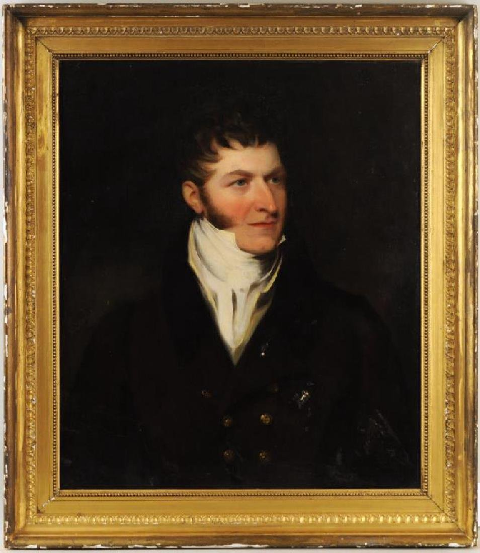 Att. John Hoppner, O/C Portrait Sir John Beckett
