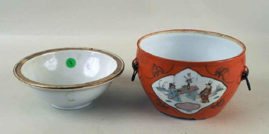 Two Chinese Porcelain Warming Dishes/Tureens - 3