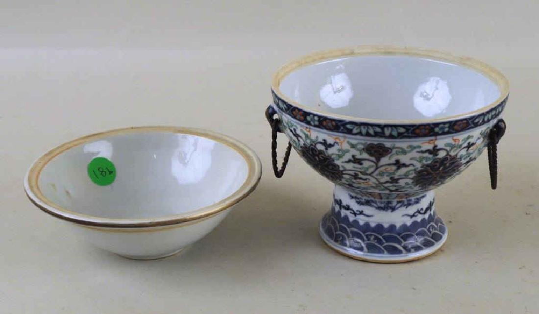Two Chinese Porcelain Warming Dishes/Tureens - 7