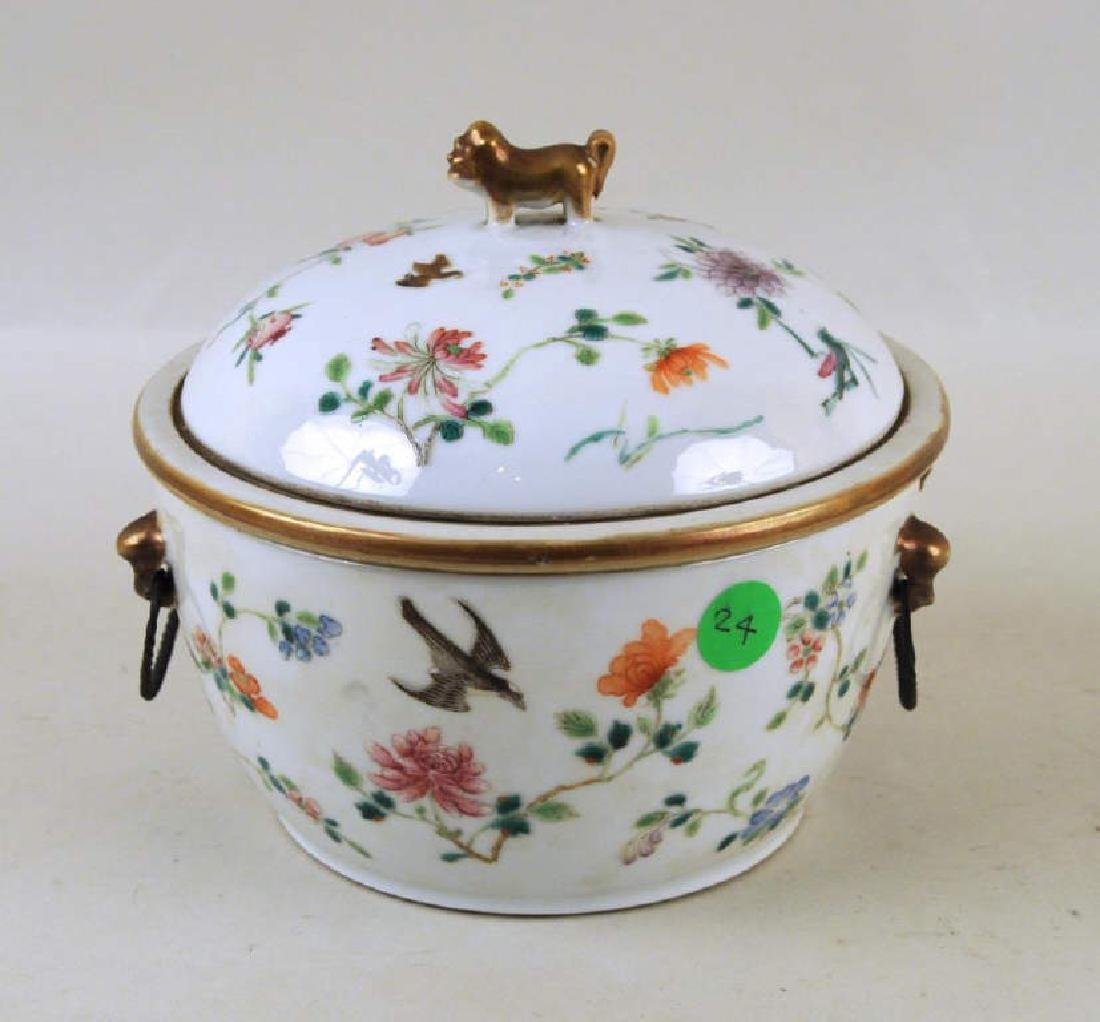 Chinese Porcelain Warming Dish/Tureen with Cover - 3