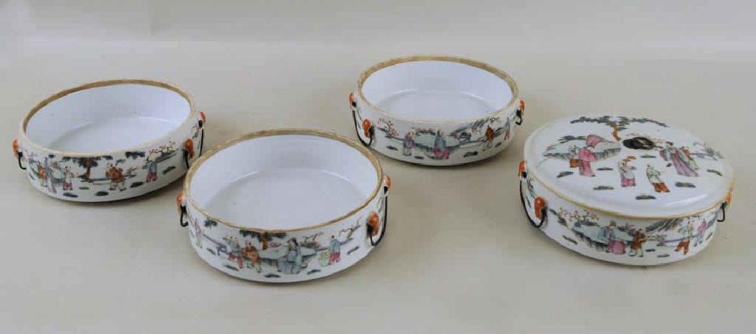 Chinese Porcelain Four-Tier Food Container - 5