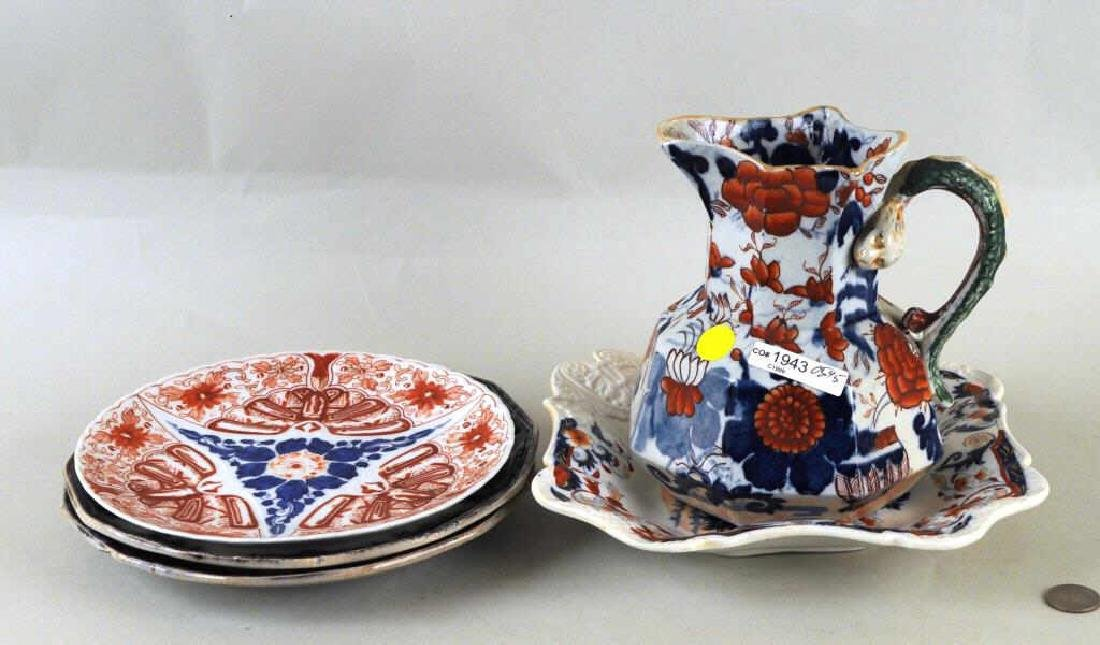 Five English Porcelain Transferware Items - 2