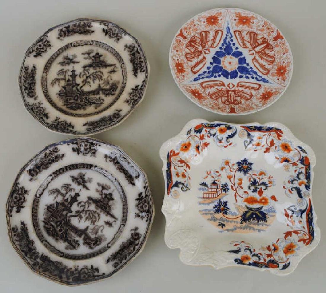 Five English Porcelain Transferware Items - 3