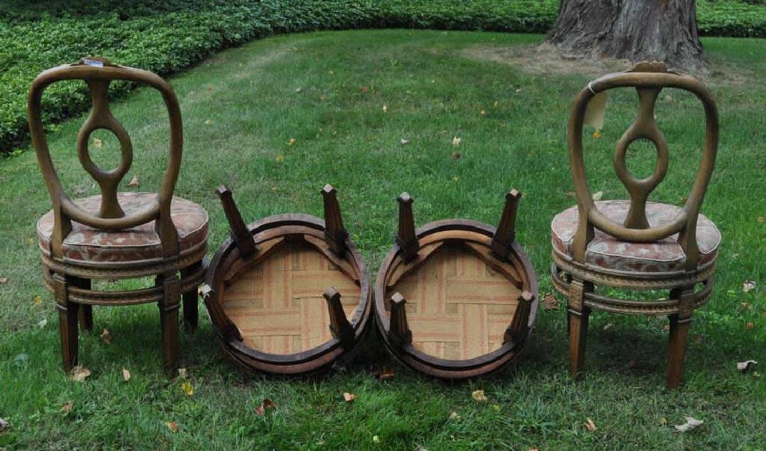 Four Continental Neoclassical Style Parlor Chairs - 2