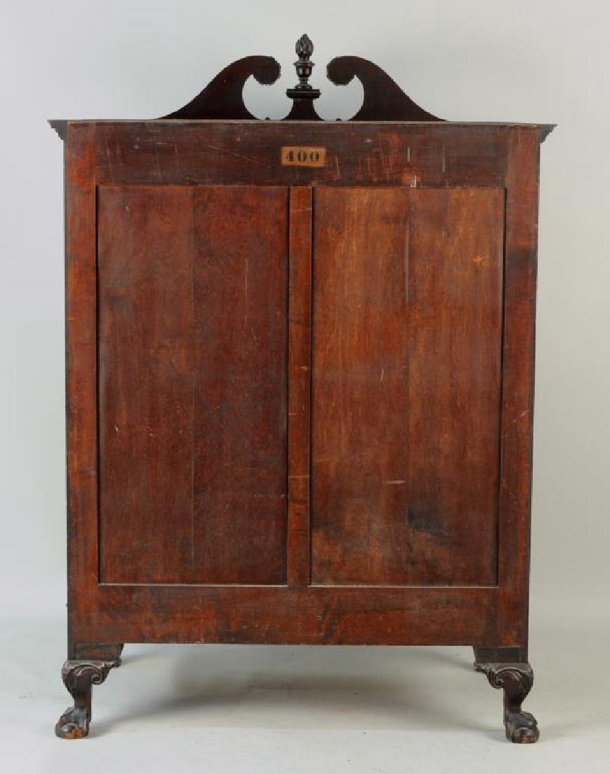 Poss. Margolis Chippendale Linen Cabinet - 3