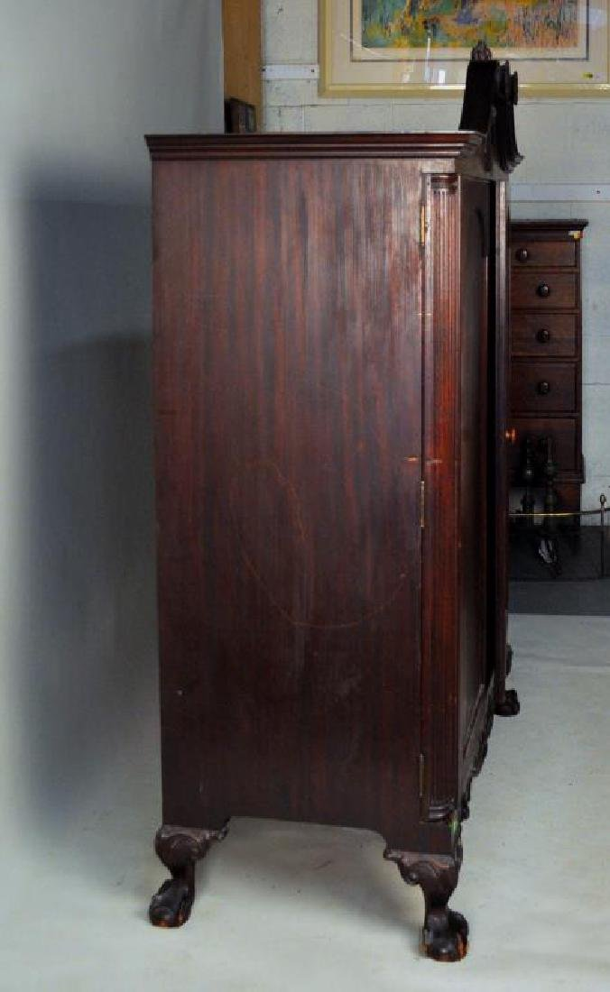 Poss. Margolis Chippendale Linen Cabinet - 4