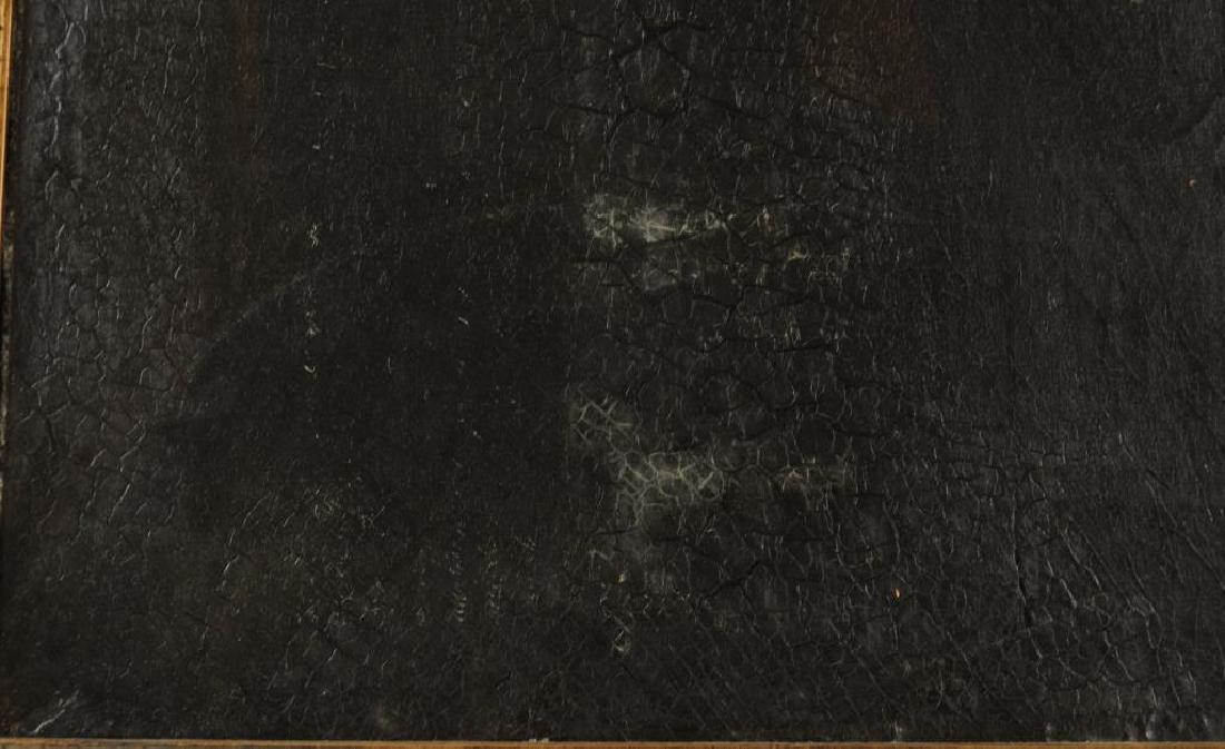American Folk Art Portrait, Gertrude Schuyler O/C - 6