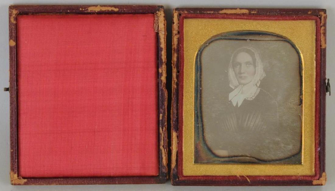 American Folk Art Portrait, Gertrude Schuyler O/C - 9