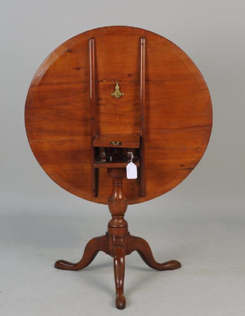 CT Cherrywood Queen Anne Tea Table - 2