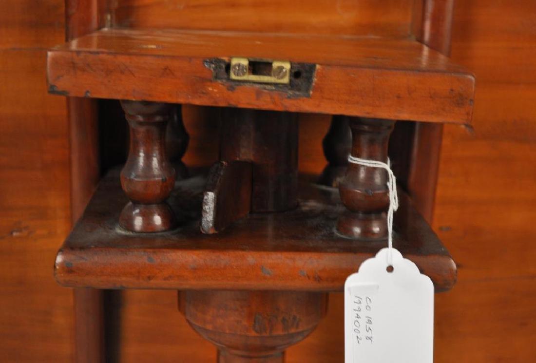 CT Cherrywood Queen Anne Tea Table - 5