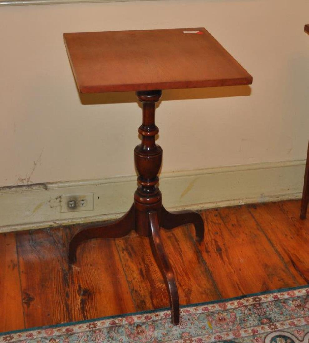 Federal Cherrywood Candlestand