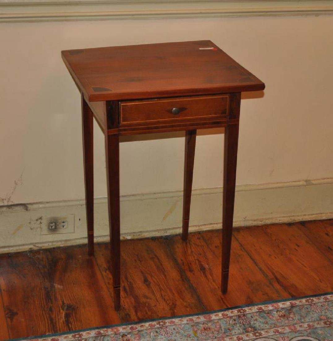 Federal Inlaid One Drawer Stand