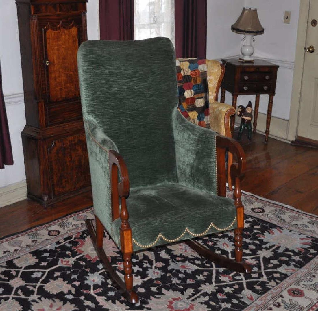 Sheraton Style Lolling Rocking Chair