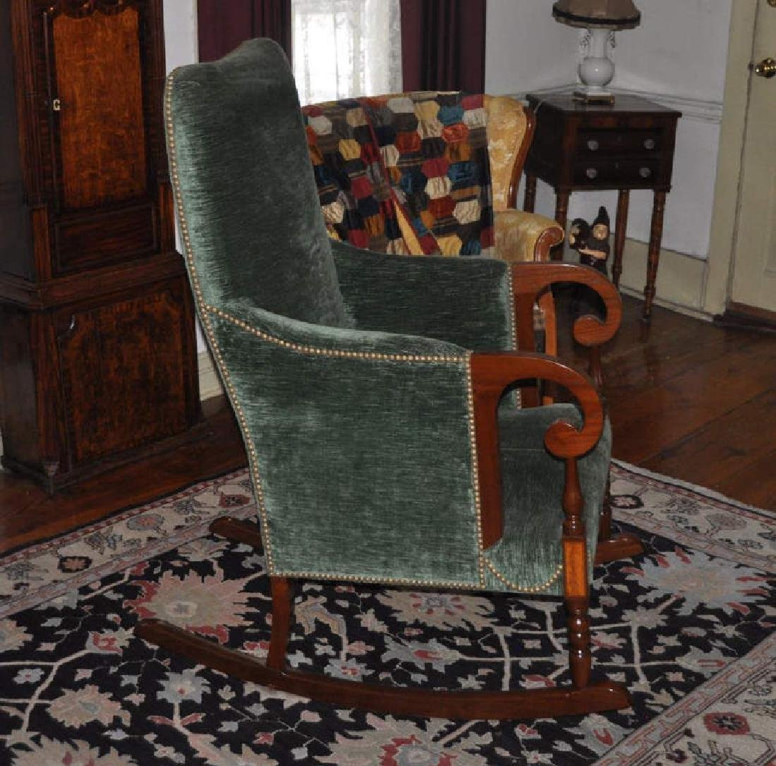 Sheraton Style Lolling Rocking Chair - 2