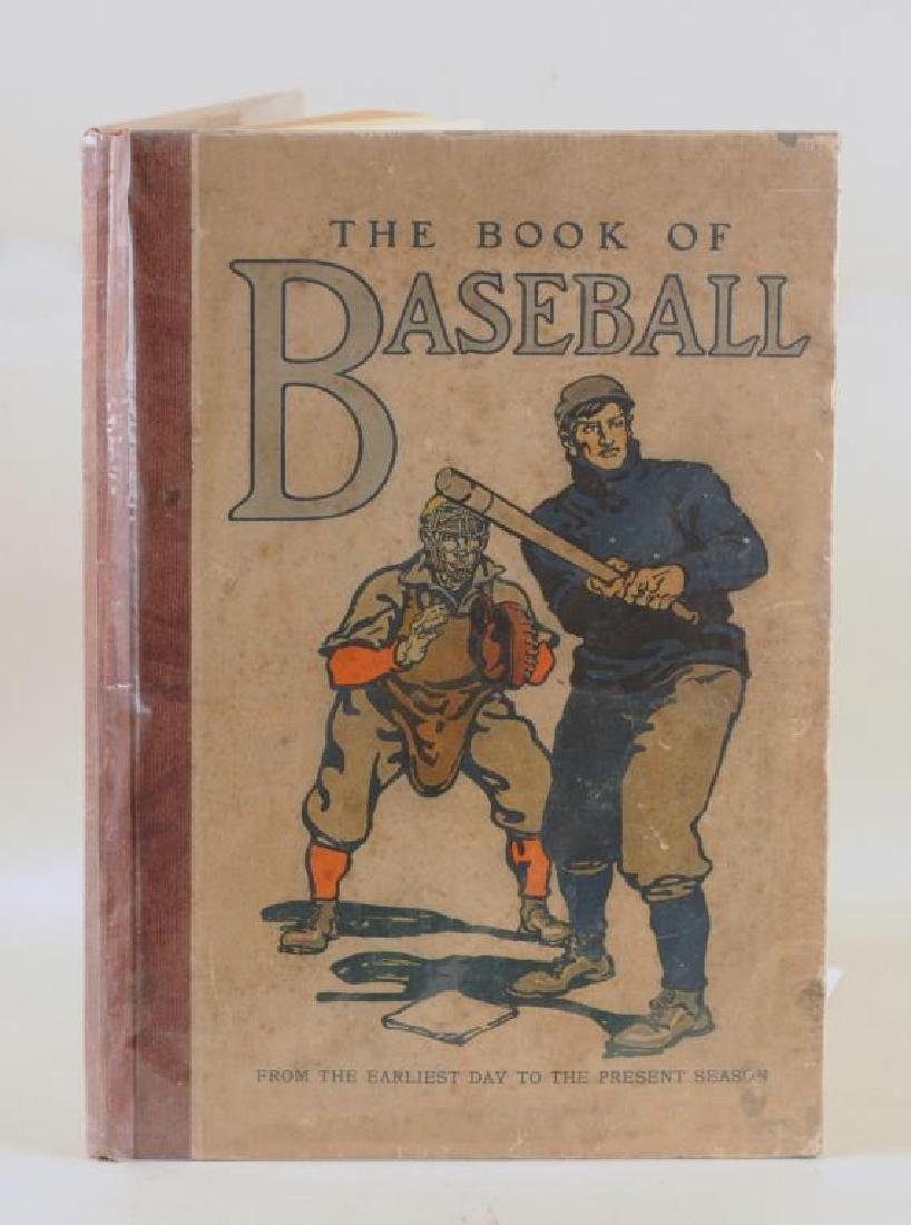 The Book Of Baseball Published by PF Collier & Son