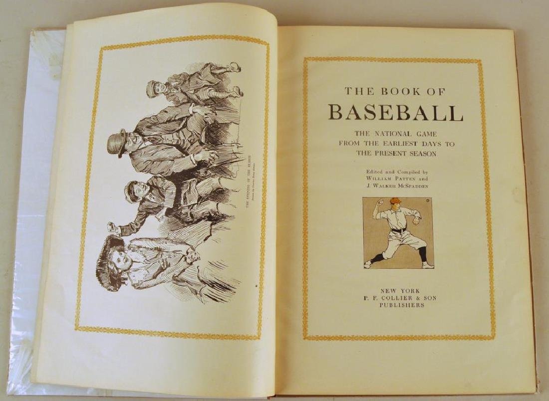 The Book Of Baseball Published by PF Collier & Son - 2