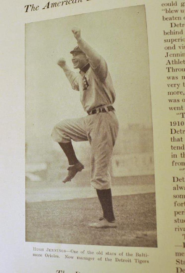 The Book Of Baseball Published by PF Collier & Son - 5