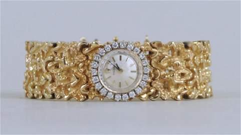 Ladies 14K Gold Rolex Watch